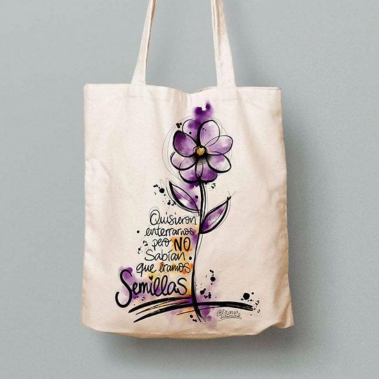 Tote Bag Flor