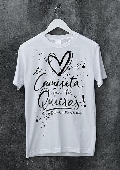 Tarjeta Regalo Camiseta