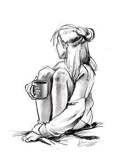 Dibujo Desnudo Femenino 11