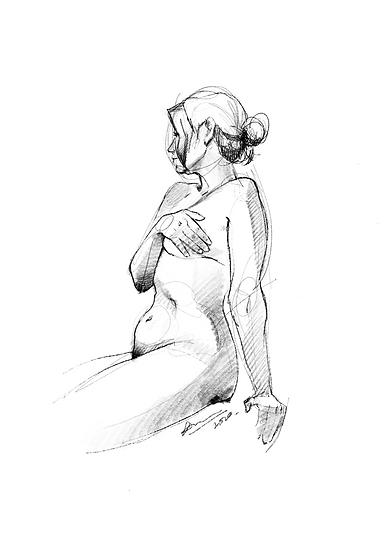 Dibujo Desnudo Femenino 7