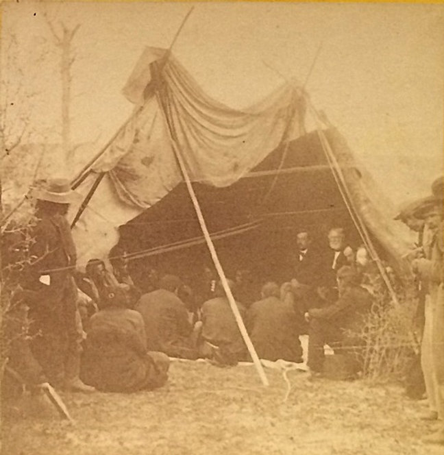 Crow & other Indians in council tipi, Laramie 1868 by Gardner_edited.jpg