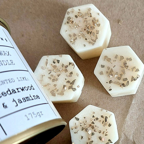 Cedar Wood & Jasmine Wax Melts