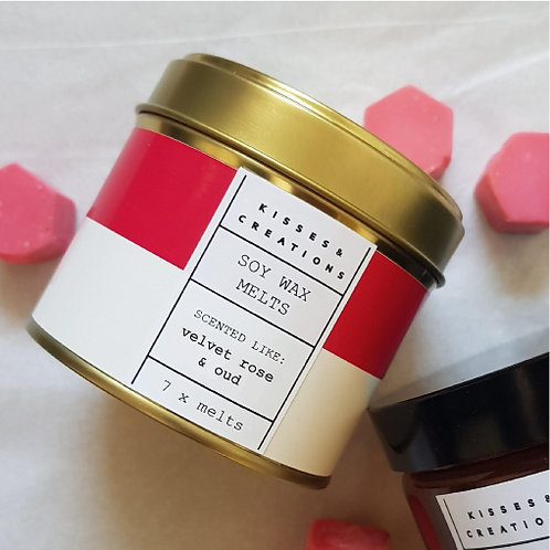 Velvet Rose & Oud Candle in a Can