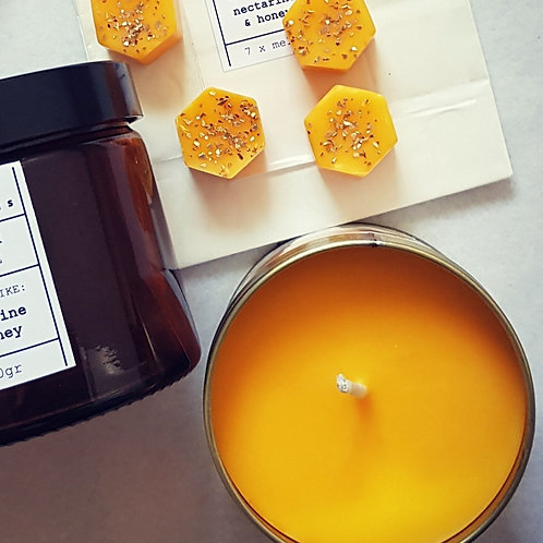 Nectarine & Honey Candle in a Can
