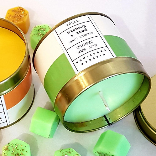 Pear & Freesia Candle in a Can