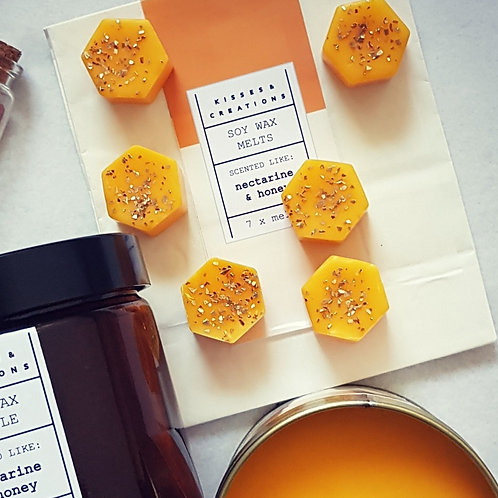 Dark Amber & Ginger Lilly Wax Melts