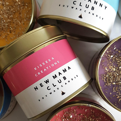 New Mama Club Candle