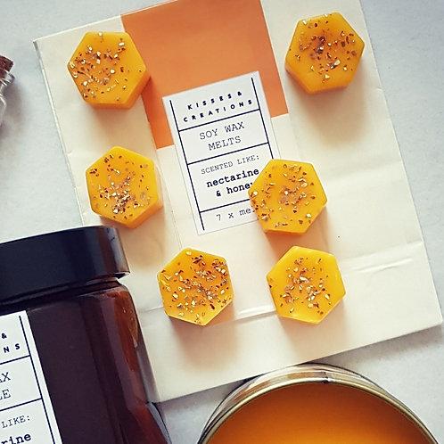 Nectarine & Honey Wax Melts