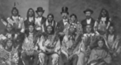 1873 Crow Delegation, Washington DC
