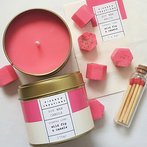 Wild Fig & Cassis Candle in a Can