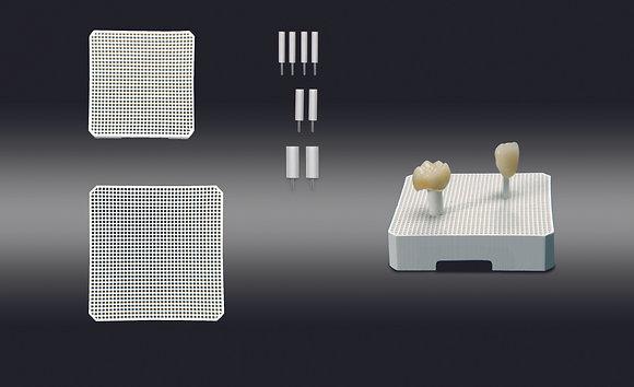 סט כוורות לשריפת כתרים וגשרים בתנור - Firing Tray