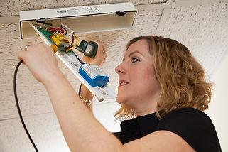Emergency lighting design and installation