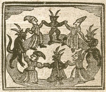 witches dancing circle - vještičje kolo