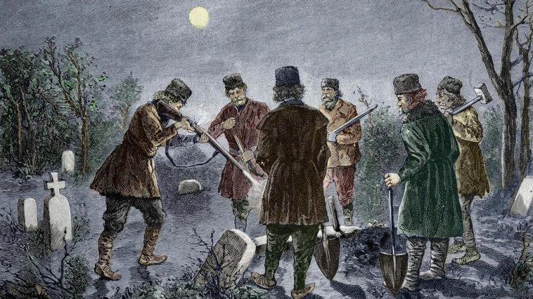 Slavic vampire hunts