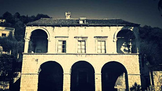 The abandoned summer manor of Sorgo-Natali
