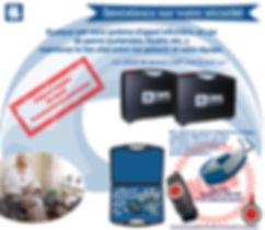 Appel infirmière , patients , médaillon, CRW-PT8-L , CRW PT8 L , bracelet d'appel , CRW-PG8 , CRW PG8 , valise de secours