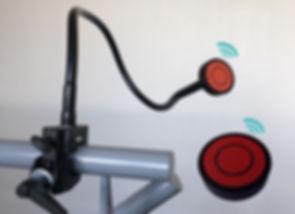 contacteur handicap radio sans fil, bras radio handicap