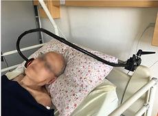 bouton handicap sur bras articulé