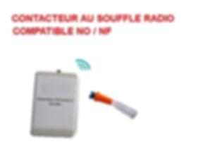 contacteur au souffle radio