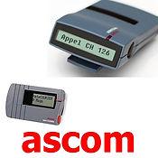 Radiomessagerie, Radiomessagerie ascom ,beep ,beeper