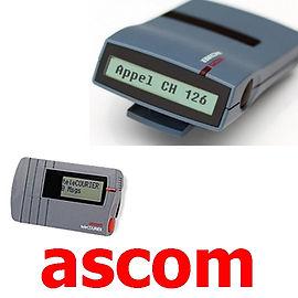 Radiomessagerie, Radiomessagerie ascom ,beeper , H914D, H912D