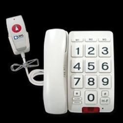 Téléphone appel malades , appel malades , Téléphone malvoyant , malvoyant , manipulateur d'appel, tel easy