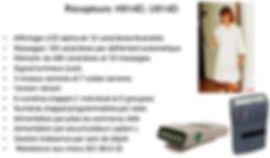 Radiomessagerie , Récepteur , H914D , U914D , Résistant aux chocs ,Résistant , Radiomessagerie