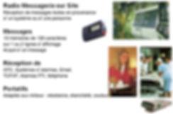 Radiomessagerie ascom, H912D, H914D, H912D, H914D