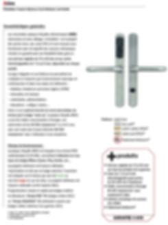 Poignée de porte , Poigner magnetique , bequille autonome