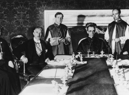 Pope Pius XII: Part I, The Rise of Pacelli and The Alliance with Fascism