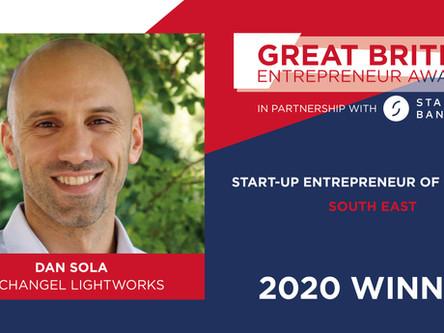 Archangel Lightworks founder named Start-Up Entrepreneur of the Year