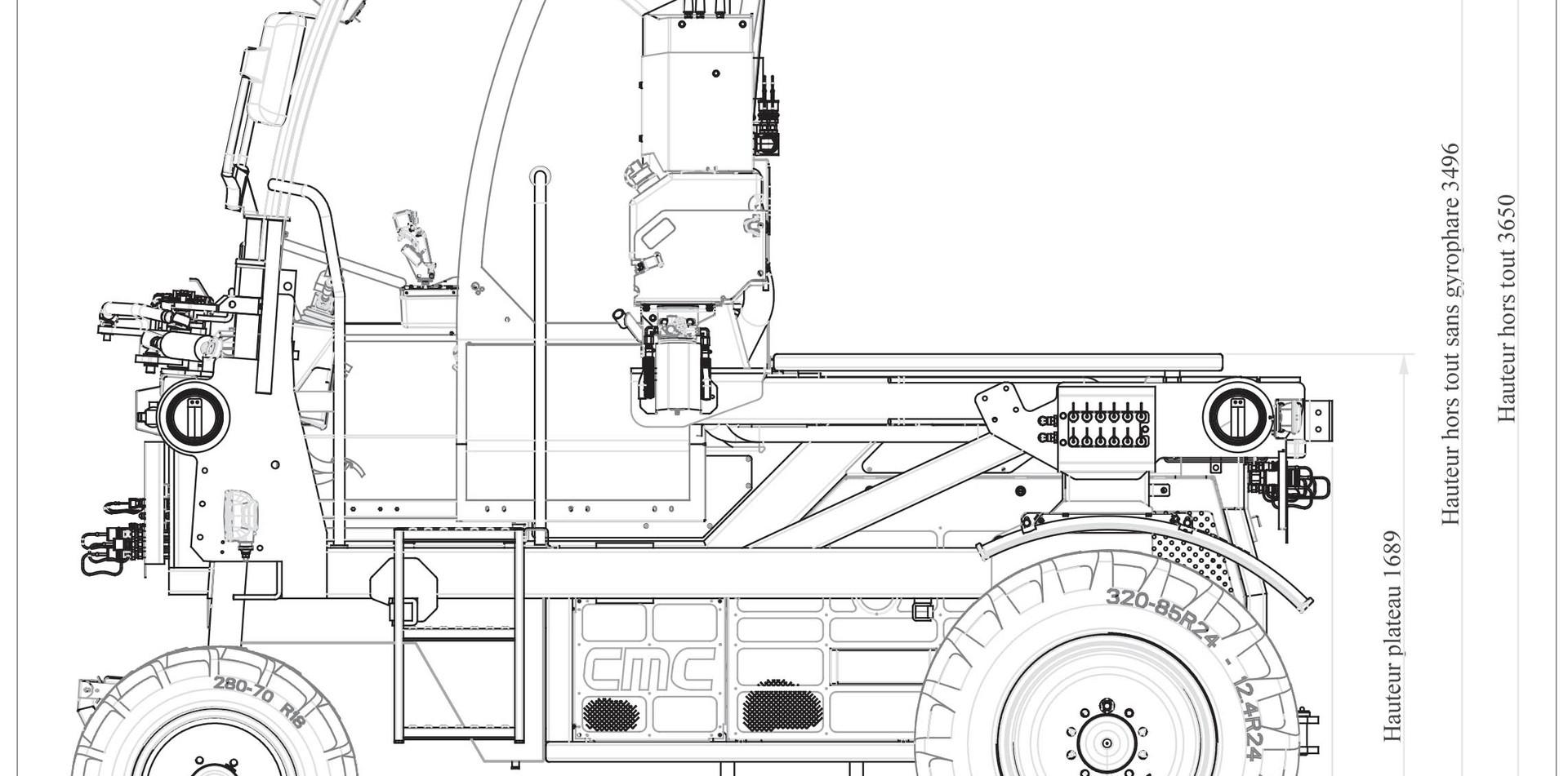 CMC_X4-150 VV-dessin technique