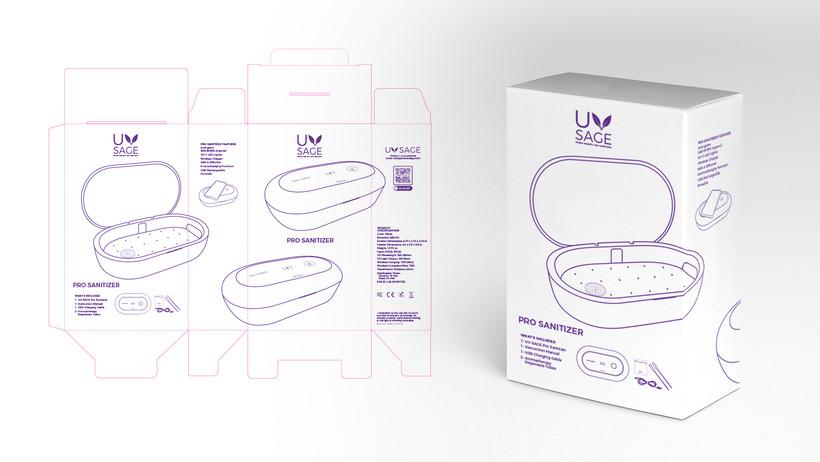 UV-SAGE Package Design