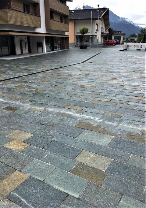 Ortsplatzgestaltung Wiesing/Tirol