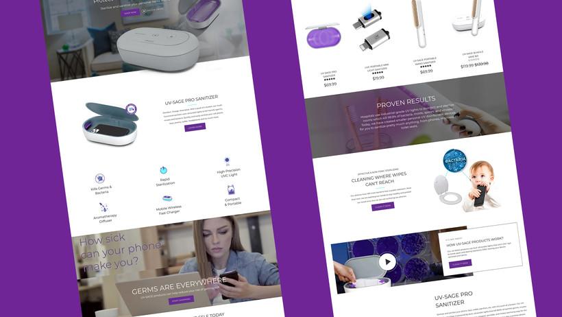 UV-SAGE Website
