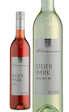 Klassik Wein Rosé und Sämling