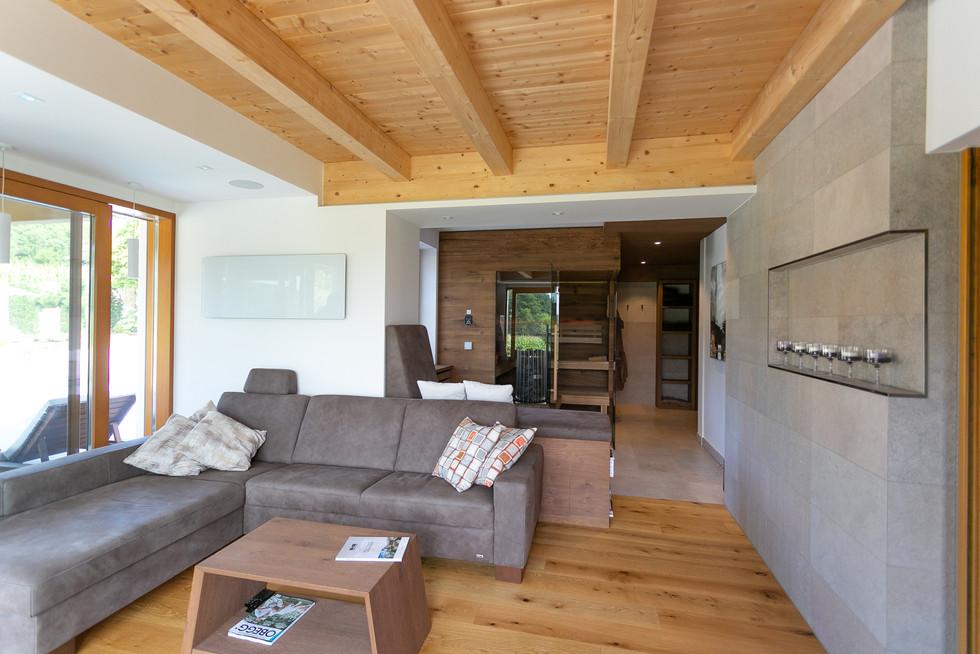 Schaugarten FK Naturstein - Kroatischer Kalkstein - Kanfanar - Kirmenjak - Naturstein Fliese Indoor - Wellness Oase Naturstein - Kamen Pazin - Sauna - Relax Bereich