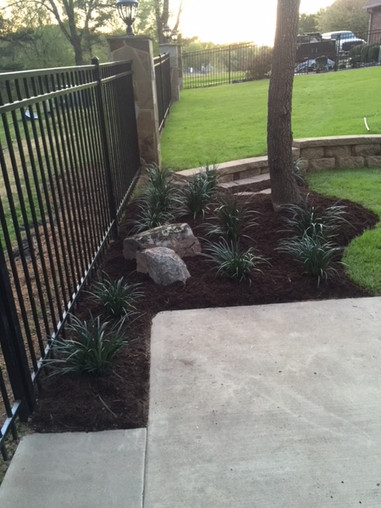 Add an Accent Flowerbed to your lawn
