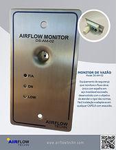 Monitor de vazão de ar Capelas