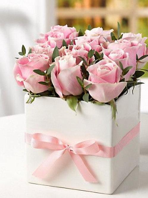 Caja de Rosas Simpatía