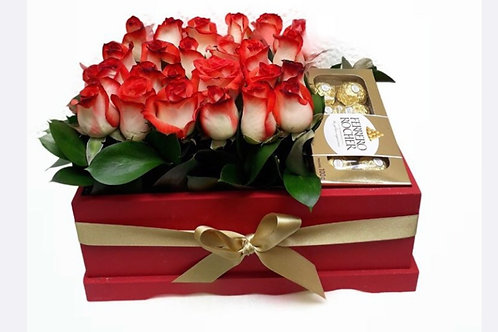 Caja de Rosas Sweet Love