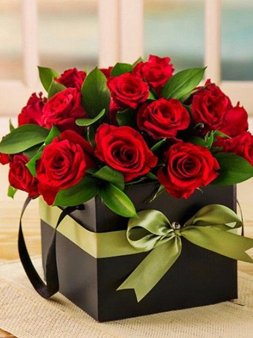 Caja de Rosas Primavera