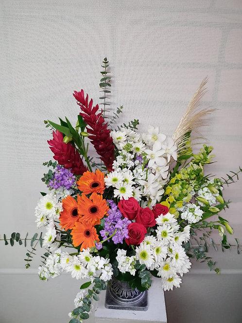 Arreglo de flores sensación