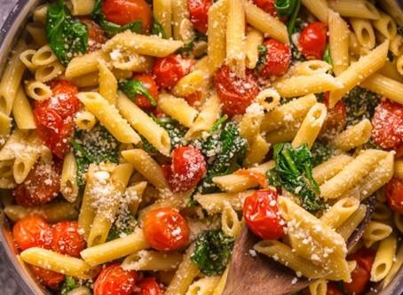 Snabb pasta med broccoli