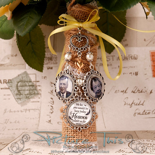 Triple Custom Chandelier Bouquet Charm