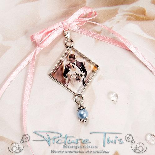 Diamond Bouquet Charm Chain