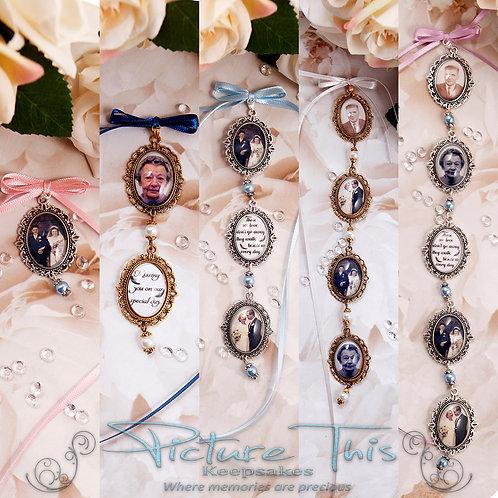 Filigree Oval Charm Chain