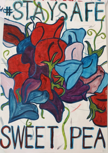Paul Cope - 'Stay Safe Sweet Pea'