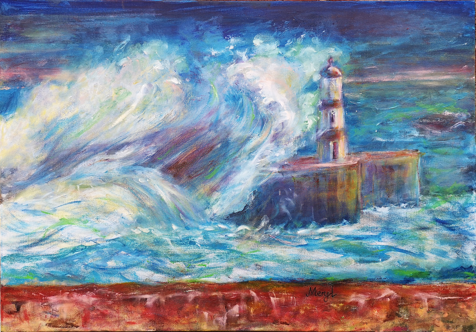 Meryl Mathieson - 'Seaham Harbour'