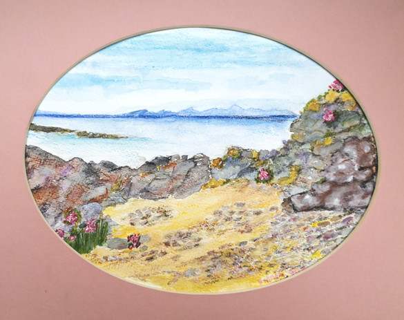Patricia May - 'Beach Landscape'
